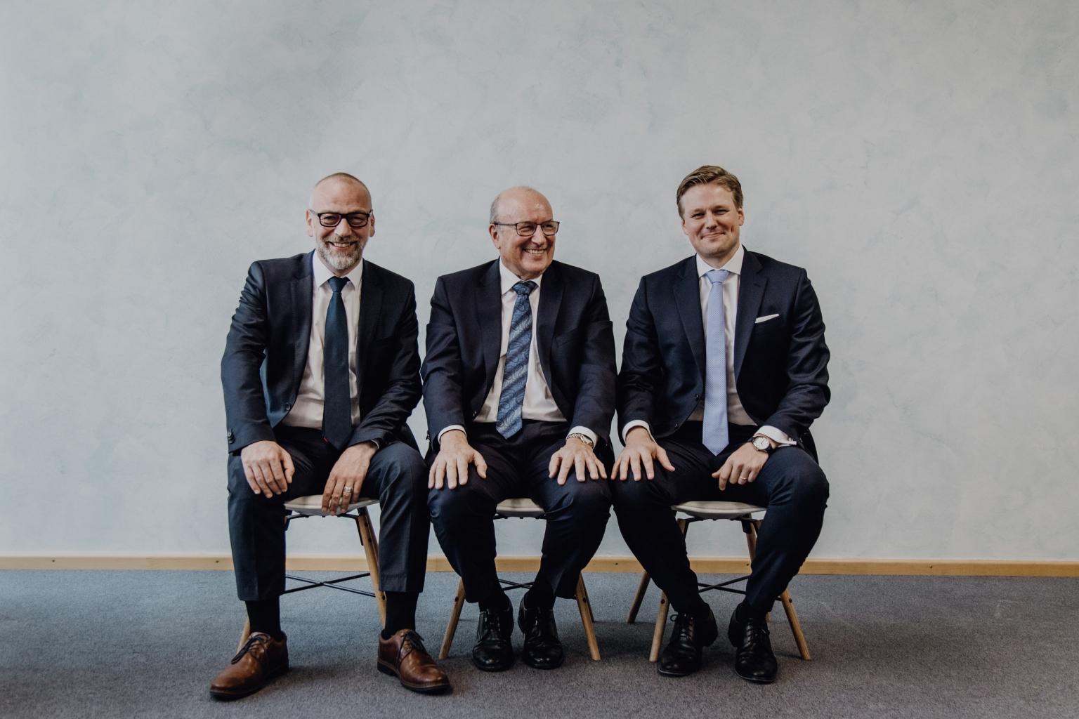 Dr. Fuchs, Neubauer und Greiner